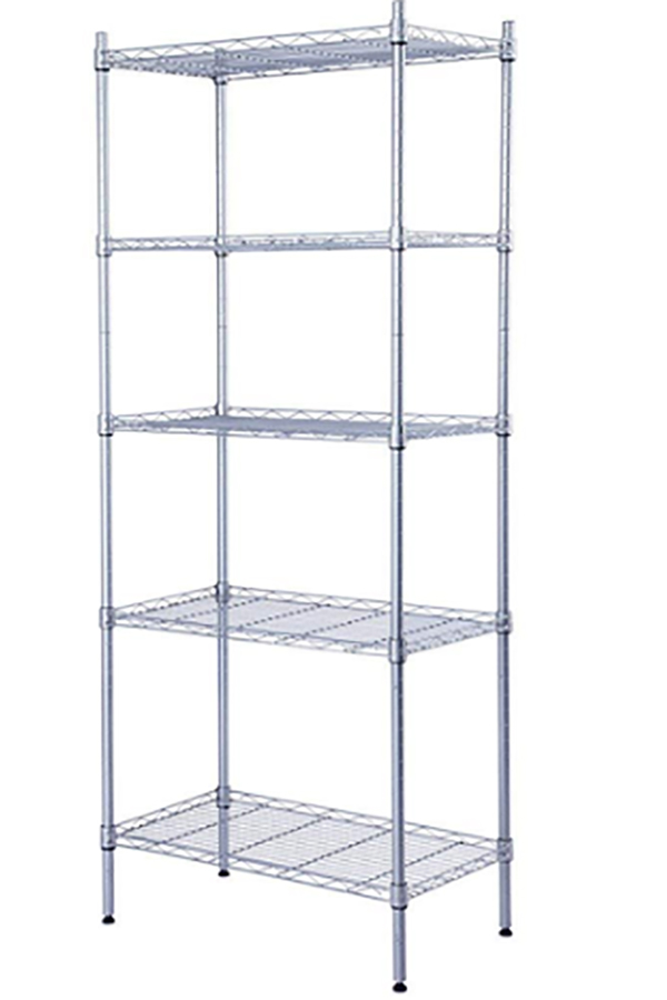 Supreme 5 Tier Shelving With Adjustable Shelves And